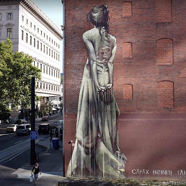murals around Portland