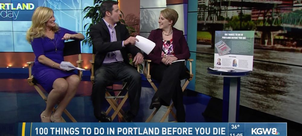 "Ann Smith Talks to Drew Carney about ""100 Things to do in Portland Before You Die"""